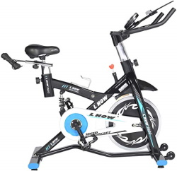 L NOW Stationary Exercise Bike