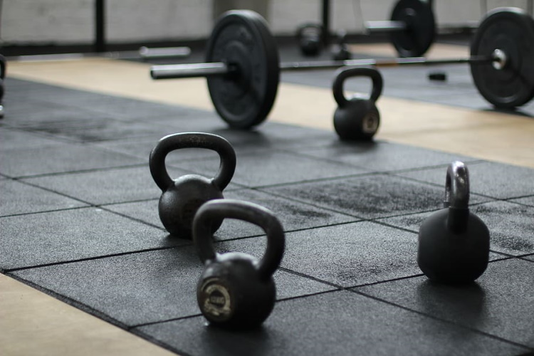 Kettlebells and Barbells