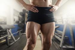 Man's Strong Legs