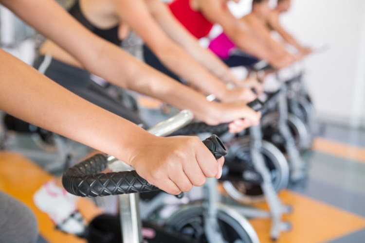 Spin Class in Session