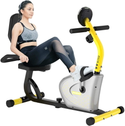 Pooboo Recumbent Exercise Bike