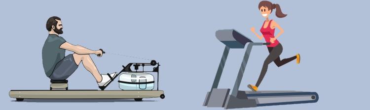 Rowing Vs Treadmill