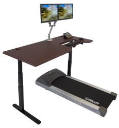Lander Treadmill Desk with SteadyType