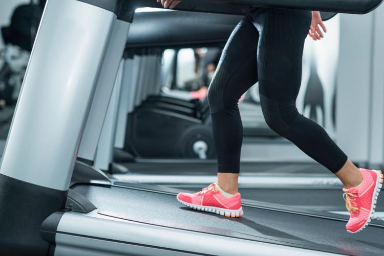 Treadmill on Incline